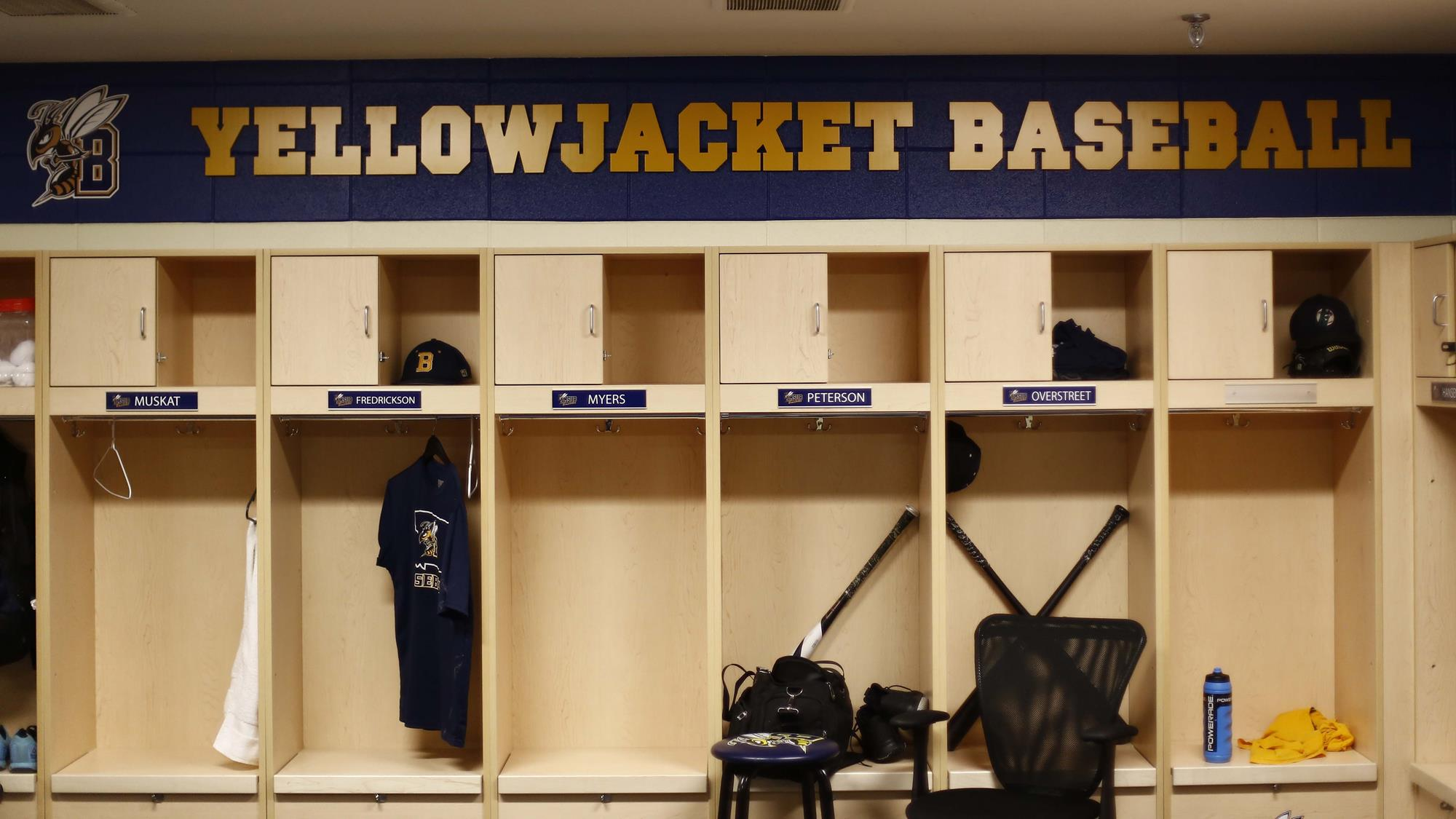 Inside The Yellowjacket Baseball Locker Room Renovation Project